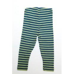 Legging Wolle/Seide Grün von Engel